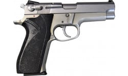 """Smith & Wesson 5903 Semi-Auto Pistol 9mm 15rd 4"""" Barrel Brushed Steel - HG1870BS-G"""