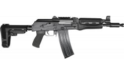 "Zastava ZPAP85 Semi-Automatic AK-47 Pistol 10.5"" Barrel .223/5.56NATO 30rd - Bulged Trunnion, Chrome-Lined Barrel, and SBA3 Brace - ZP85556TAB"