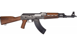 """Zastava Arms ZPAP M70 AK-47 Rifle 7.62x39 30rd - New 16.3"""" Chrome-Lined Barrel, 1.5mm Receiver, and Bulged Trunnion - Wood Furniture - ZR7762WM"""