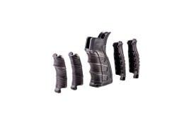 AR15/M16 Pistol Grip w/Interchangeable Rubber Finger Grooves by CAA - UPG16