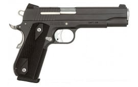 Sig Sauer 1911 45 ACP Pistol, Nightmare Black Nitron Fastback Stainless Steel - 1911F45NMR