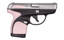 "Taurus 1007039113 Spectrum Double 380 ACP 2.8"" 6+1/7+1 Black/Stainless/Rose Quartz"
