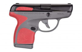 "Taurus 1007031208 Spectrum Double 380 ACP 2.8"" 6+1/7+1 Gray Frame w/Marsala Grip Inserts"