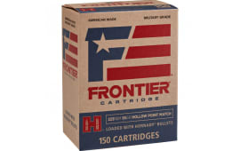 Frontier FR1015 223 55 FMJ 150/08 - 150rd Box