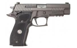 Sig Sauer P226 Legion 9mm Pistol, 4.4 Mid Size Gray Xray 3 15rd - E26R9LEGION