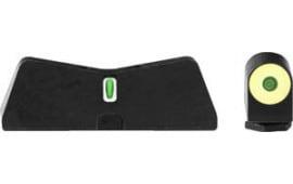 XS Sights GL-0011S-5Y DXT2 Big Dot Glock 42/43 YLW