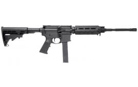 """Stag Arms 800005 Stag 9 OCR Semi-Auto 16"""" 32+1 Magpul CTR Black Hardcoat Anodized"""