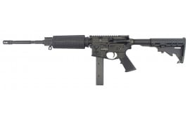 "Stag Arms 8000011L Stag 9 ORC Left Hand Semi-Auto 16"" 32+1 6-Position Black Hardcoat Anodized"