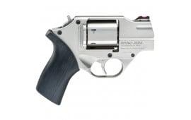 Chiappa CF340235 White Rhino 40 S&W 2 DAO Brushed NKL Revolver