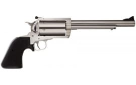 "Magnum Research BFR45LC410 BFR Long Cylinder SS 45LC/410 Single .45 LC / 410 GA 7.5"" 5 Black Rubber Stainless Revolver"