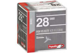 "Aguila 1CHB2878 Hunting High Velocity 28 GA 2.75"" 3/4oz #8 Shot - 25sh Box"