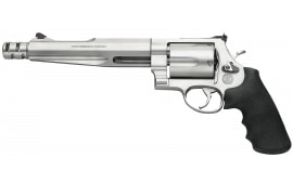 """Smith & Wesson 170299 500 Performance Center DA/SA 500 Smith & Wesson 7.5"""" 5 Black Synthetic Stainless Revolver"""