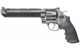 "Smith & Wesson 170323 629 Performance Center DA/SA .44 7.5"" 6 Hogue Rubber Black Black Stainless Steel Revolver"