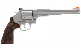 "Smith & Wesson 170334 629 Performance Center DA/SA .44 8.4"" 6 Wood Stainless Revolver"