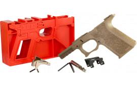 Polymer80 P80PF940CV1F G19/23 Gen 3 Compatible Frame Kit Polymer FDE