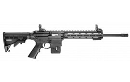 "Smith & Wesson 10206 M&P15-22 Sport Semi-Auto 22 Long Rifle 16.5"" 10+1 6-Position Black"
