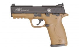 "Smith & Wesson 12393 M&P22C .22 LR 3.6"" 10rd"