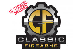 Classic Firearms Stickers - 10 Pack