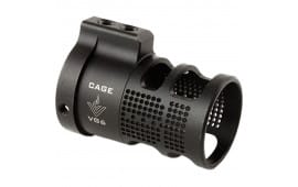 Aero Precision APVG100201 VG6 Cage Recoil Reducer AR Style Stainless Steel Black Nitride