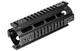 NcSTAR AR15/M16 2-Piece Quad Rail, Carbine Length