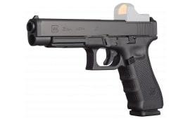 """Glock PG3530103MOS G35 Gen 4 MOS DA 40 S&W 5.3"""" 15+1 AS Poly Grip/Frame Black"""