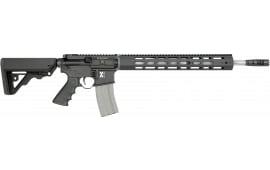"Rock River Arms XBLK1751B LAR-300 X-Series 300 Blackout Carbine Black Semi-Auto 18"" 30+1 RRA Operator CAR Stock Black"
