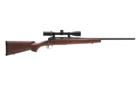 "Savage 22555 Axis II XP Hardwood Bolt .270 22"" 4+1 Wood Stock Black"