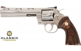 "Colt Manufacturing Python .357 Magnum 6"" Barrel 6-Shot Stainless Steel Revolver python-sp6wts"