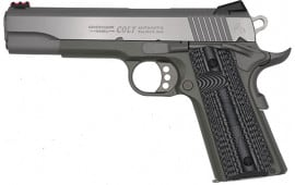 "Colt Defense O1072CCSJG Govt Competition 5"" Jungle Green ADJ. SGTS G10"