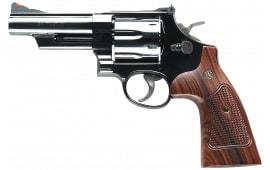 """Smith & Wesson 150254 29 Classic DA/SA .44 4"""" 6 Walnut Square Butt Blued Revolver"""