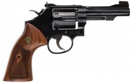"""Smith & Wesson 150717 48 Classic DA/SA .22 Mag 4"""" 6 Wood Blued Revolver"""