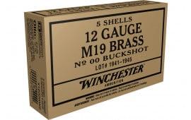 Winchester Ammo X1200WW2 00BK 12 Wwii Buck - 5sh Box