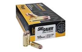 Sig Sauer E10MB1200 Elite Ball 10mm Automatic 180 GR Full Metal Jacket - 200rd Box