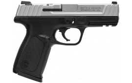 """Smith & Wesson 123903 SD VE *CA Compliant* Double 9mm 4"""" 10+1 Black Polymer Grip Black"""