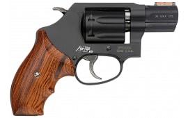 """Smith & Wesson 160228 351 Personal Defense DA/SA .22 Mag 1.875"""" 7 Wood Black Revolver"""