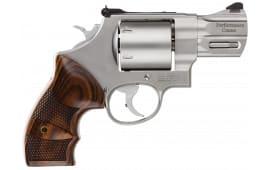 "Smith & Wesson 170135 629 Performance Center DA/SA .44 2.6"" 6 Wood Stainless Revolver"