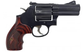 "Smith & Wesson 170170 586 Performance Center DA/SA 45 ACP 3"" 7 Wood Black Revolver"