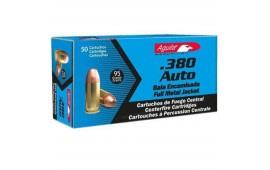 Aguila .380 Auto 95 GR Centerfire Ammo - 50rd Box
