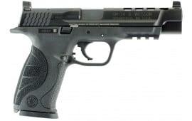 "Smith & Wesson 10100 M&P 40L Performance Center DAO 5"" Ported 15+1 Poly Grip Black"