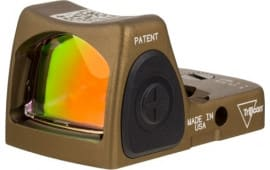 Trijicon 700780 RM06 HRS 3.25MOA Red NO MNT Adjled BRN