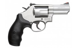 "Smith & Wesson 10061 66 K-Frame DA/SA .357 2.75"" 6 Black Synthetic Stainless Steel Revolver"