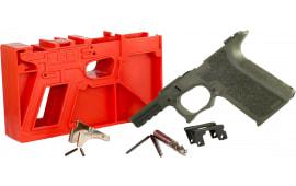 Polymer80 P80PF940CV1O G19/23 Gen 3 Compatible Frame Kit Polymer OD Green