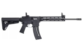 "Smith & Wesson 10213 M&P15-22 Sport Semi-Auto 22 Long Rifle 16.5"" 25+1 Mbus Magpul MOE SL Black"
