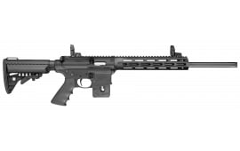 "Smith & Wesson 10205 M&P15-22 Sport Semi-Auto 22 Long Rifle 18"" 10+1 6-Position Black"