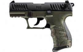 Walther 5120715 P22Q 10rd Military