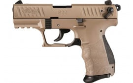 Walther 5120753 P22Q 10rd Tactical FDE