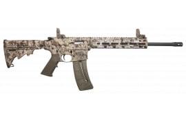 "Smith & Wesson 10211 M&P15-22 Sport Semi-Auto 22 Long Rifle 16.5"" 25+1 6-Position Kryptek Highlander Stock Black"