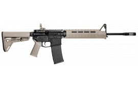 "Smith & Wesson 11513 M&P15 Carbine Magpul Semi-Auto .223 / 5.56 16"" 30+1 Magpul MOE Slim Line FDE Stock Black"