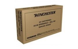 Winchester Ammo SG3006W 3006 150 SRVGRD - 20rd Box