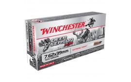 Winchester Ammo X76239DS Deer 7.62x39 123 - 20rd Box